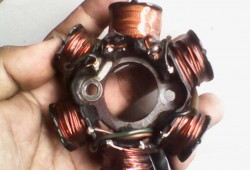 Cara Membuat Spul CDI dan Spul Lampu Motor Sendiri