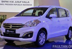 Fitur Dan Spesifikasi Suzuki Ertiga Diesel Hybrid 2017