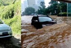 New Toyota Rush Nyaman Aman Dan Tangguh Melibas Banjir