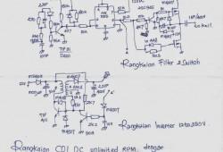 Memasang CDI Ganda Untuk Menghilangkan Limit CDI Motor